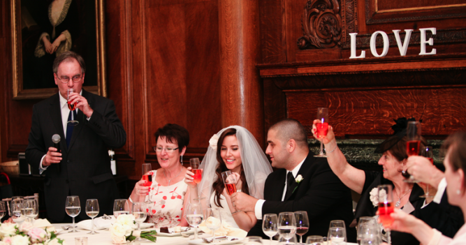 wedding speech photo