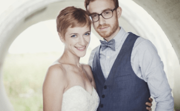 A Blogger's Creative, Eclectically Beautiful, DIY Vintage Wedding 2