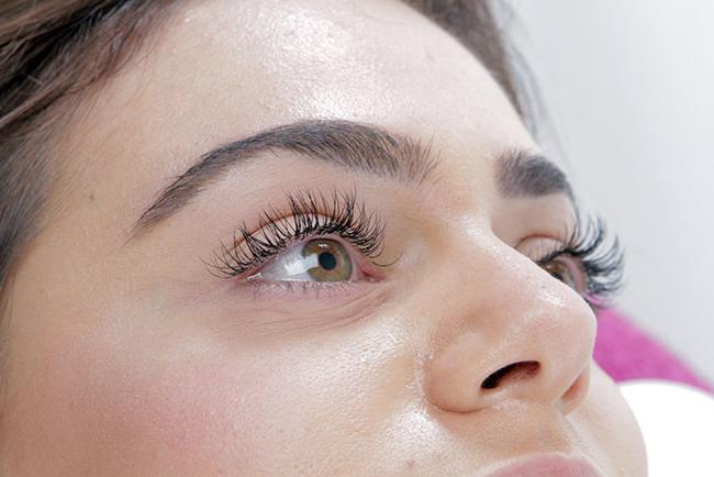 Boudoir Lashes eyelash extension treatment (8)