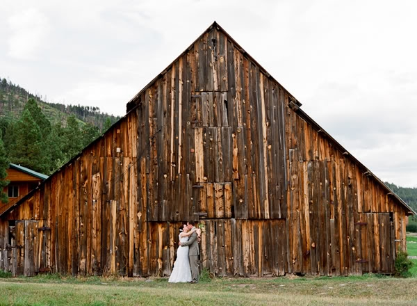 Rustic Barn Wedding Inspiration Board