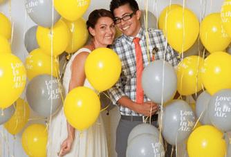 Bright, Modern, Typographic Palm Springs Wedding Part 2