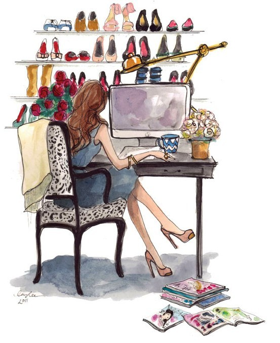 blogger illustration by Inslee