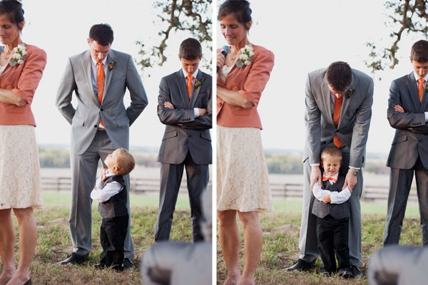 Ring bearer outfits for outdoor wedding