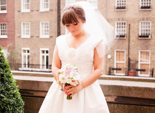 city chic London wedding