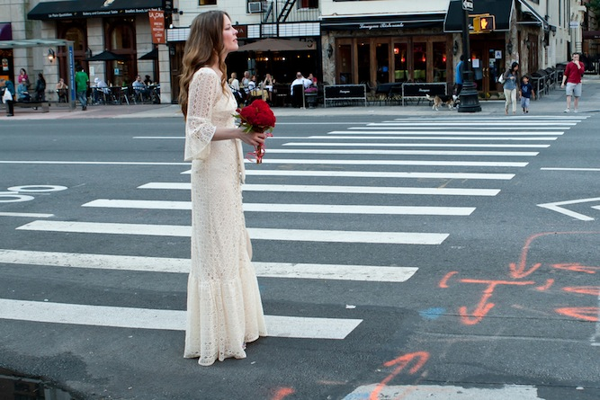 Boho Wedding Dress Nyc : Wedding dress of the week bhldn greenbow lace gown bridal musings
