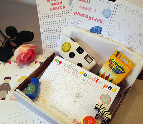 wedding activity box