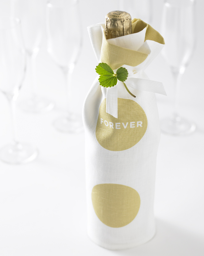 Love Set Tea Towel Studiopatro Champagne Forever