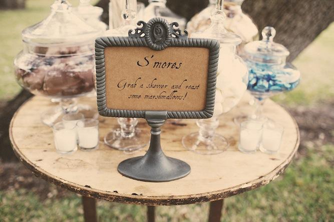 Rustic Fall DIY Wedding With A Smores Bar Amp Cowboy Boots