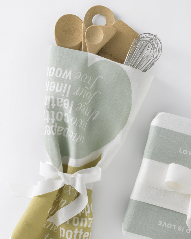 Love Set Tea Towel Studiopatro Tool Bouquet