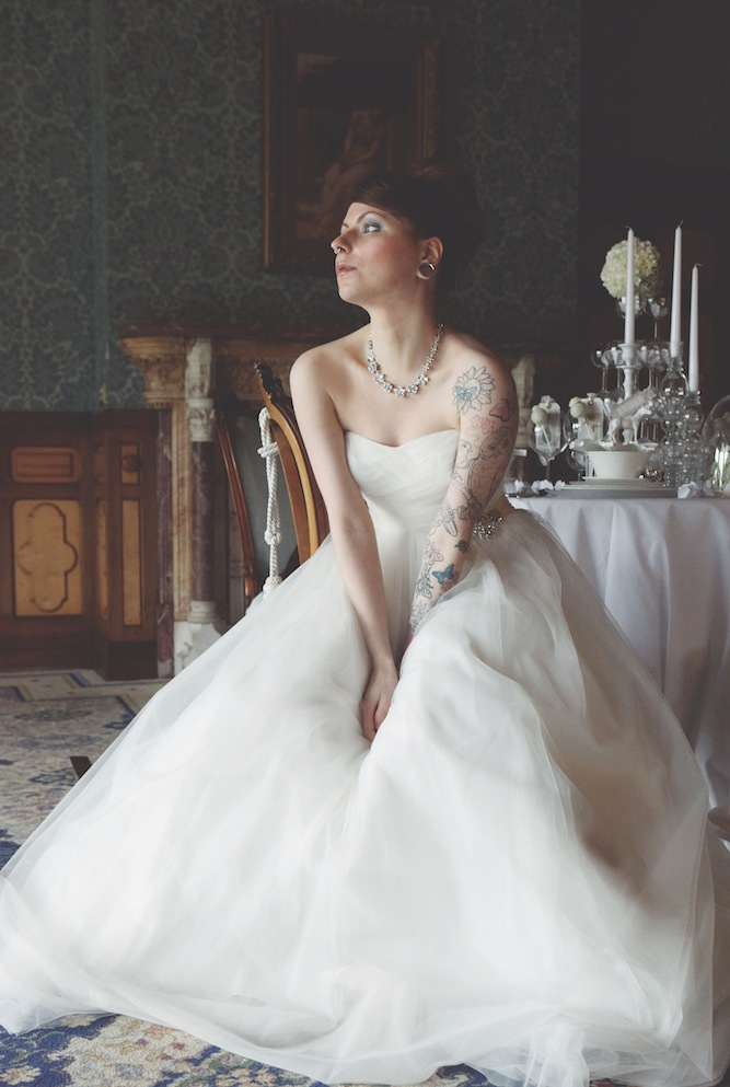 white wedding inspiration shoot by four photographers (13)