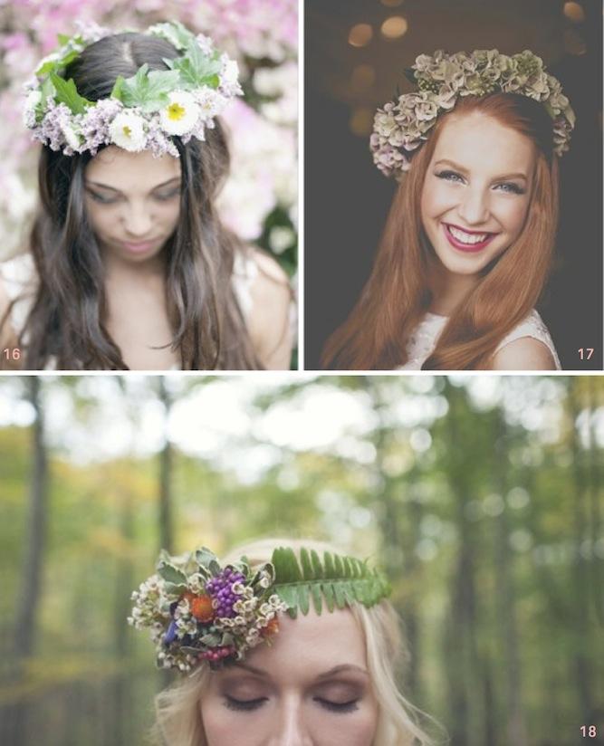 Свадебные причёски с цветами: 50 супер-романтичных вариантов