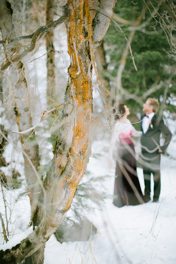 Narnia style winter wedding shoot