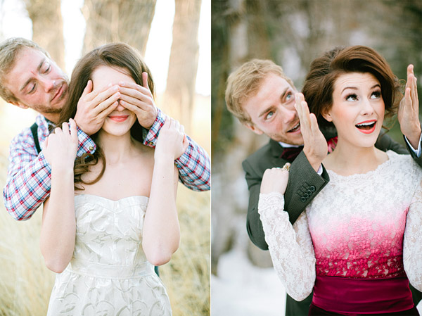 Magical Winter Proposal Shoot by Ciara Richardson