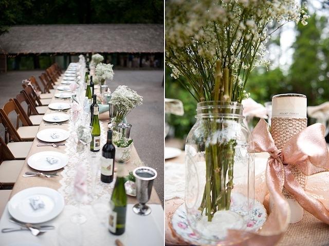 Romantic Blush Pink Diy Fairytale Wedding Part 2