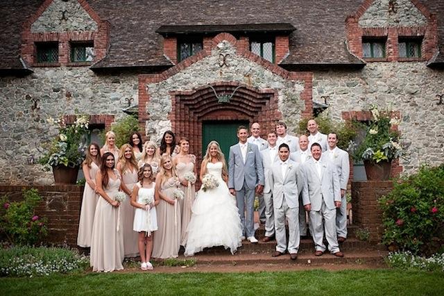 Blush Wedding Dress Grey Bridesmaids : Romantic blush pink diy fairytale wedding part