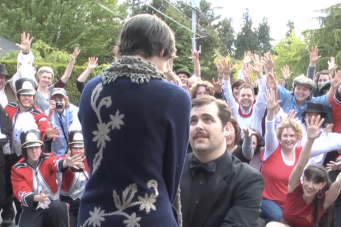MUST SEE Unique Wedding Proposal ~ Happy Tears All Round!