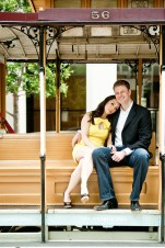 A Chic And Sweet San Francisco Engagement Shoot
