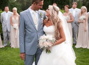 Romantic DIY Fairytale Wedding: Blush Pink, Ruffles & Lace Part 1