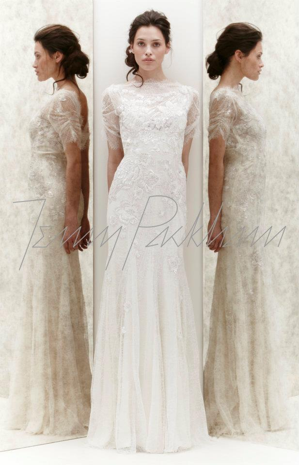 Jenny Packham Mimosa Wedding Dress | Bridal Musings