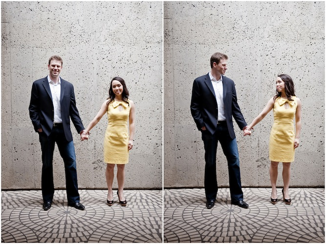 SF Engagement Shoot Yellow Dress