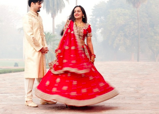 Beautiful Delhi Wedding by Love Flickrs Photography