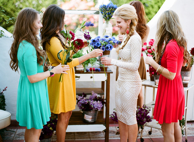 Chic, Colorful & Classy Bridal Shower Ideas By Twine Events