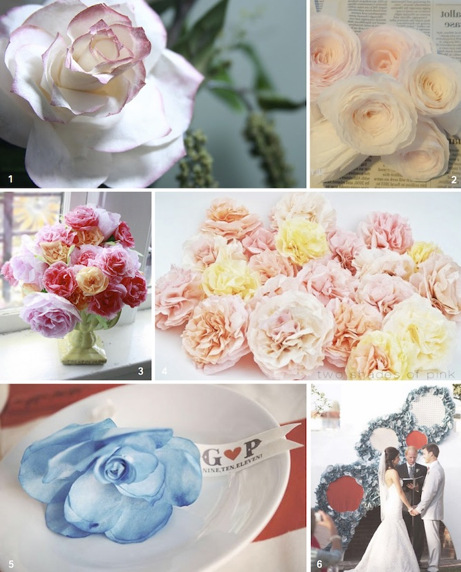 DIY Coffee Filter Flowers Tutorials