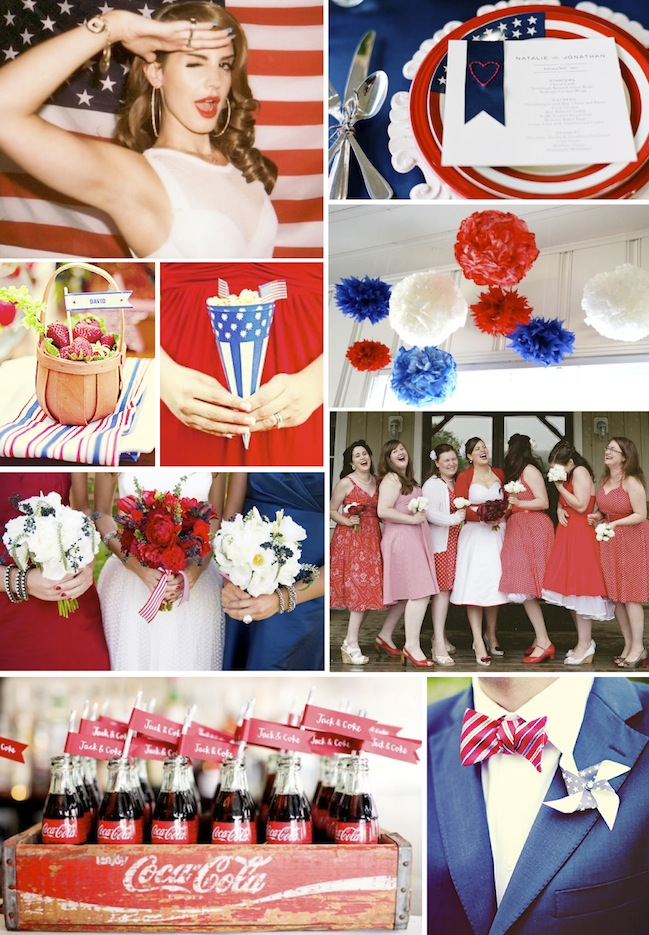 content americana wedding ideas