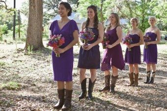 Geeky, Rustic, Summer Camp Wedding In The Woods Part 1