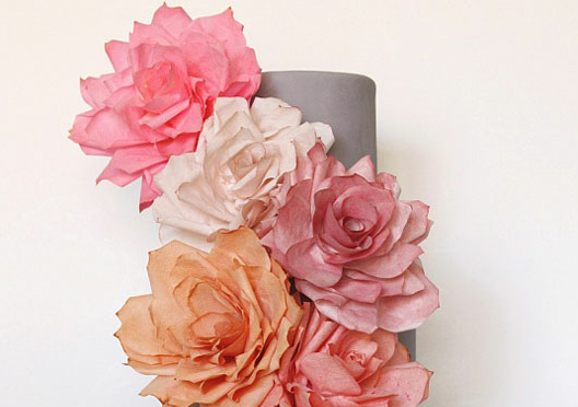 coffee filter roses DIY tutorials | Bridal Musings