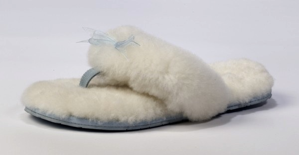 Fluff Flip Flop I Do! UGG wedding collection