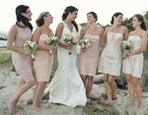 Romantic, Pastel Hued, Beach Chic Wedding In Cape Cod Part 2