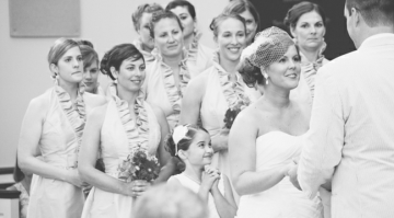Sweet & Colourful Carolina Wedding Full Of Southern Charm