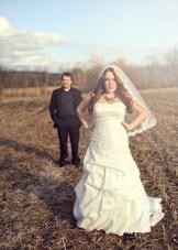Quirky Purple & Yellow Speakeasy Wedding