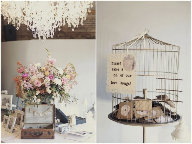 romantic vintage wedding filled with roses lace part 2. Black Bedroom Furniture Sets. Home Design Ideas