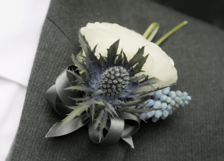 Quirky Scottish Wedding Trailer: Blue Shoes, Thistles & Lego