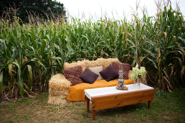 Diy Farm Wedding Ideas Creative Rustic Handmade Cornfield