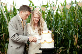 Creative, Rustic And Handmade Farm Wedding In A Cornfield Part 2