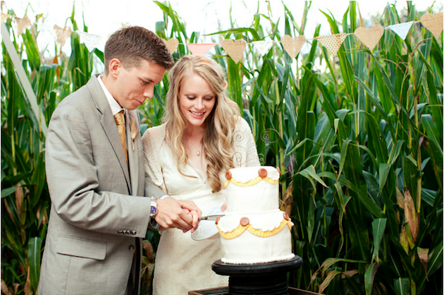 Unique DIY Cornfield Farm Wedding | Mary Dougherty Photography (42)