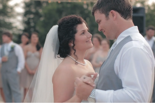 beautifully moving Southern wedding film by The Film Poets