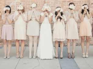 Romantic Utah Wedding: Vintage Lace & Pastel Florals Part 1