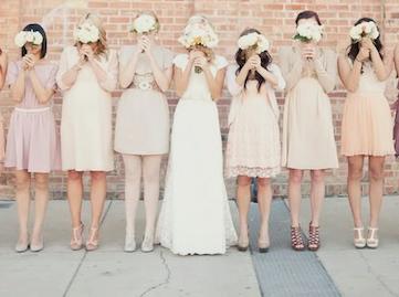 blush pink vintage wedding Axilann Loosle Photography