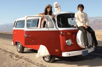 Epic Death Valley Campervan Wedding Film by Modern 8 Films