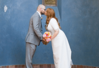 Simple, Chic & Intimate Wedding Full Of Colour & Style