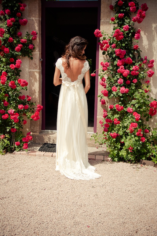 Hippie Chic Wedding Dresses : Hippie chic amsterdam wedding claire pettibone dress bridal musings