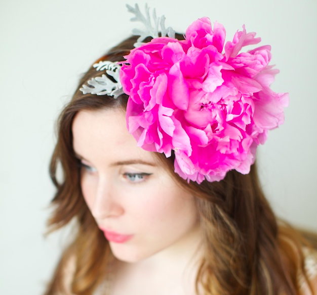 How To Make A REAL Peony Headband