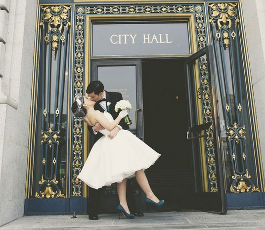 An Ode To San Francisco City Hall Weddings