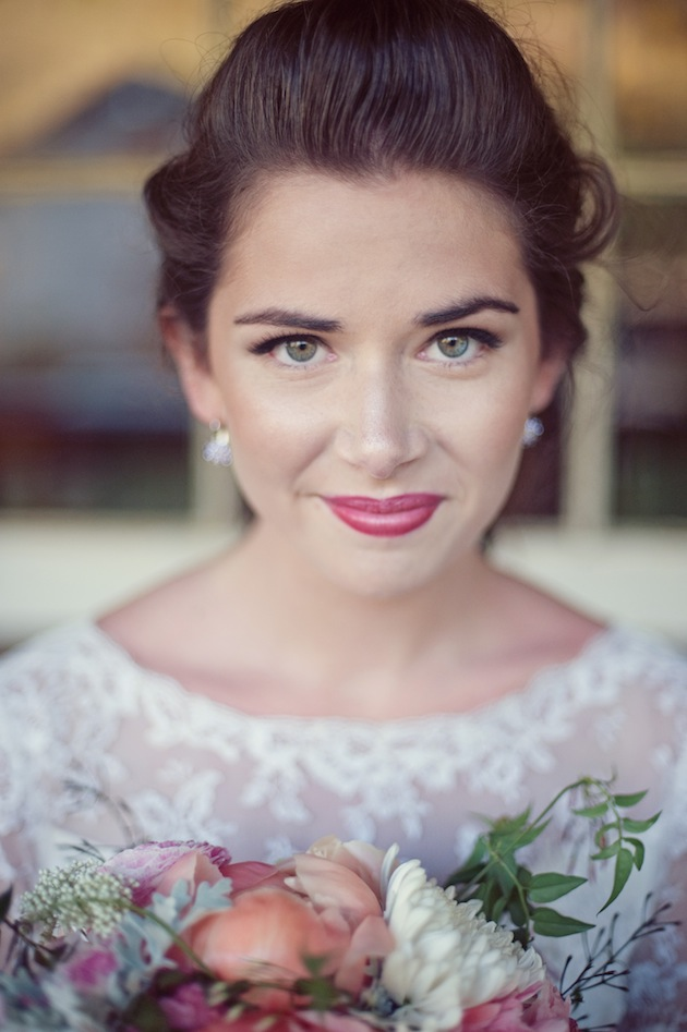 Vintage Wedding Dress and Floral Accessory Inspiration