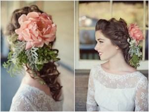 Vintage Wedding Dresses & Unique Floral Accessory Ideas