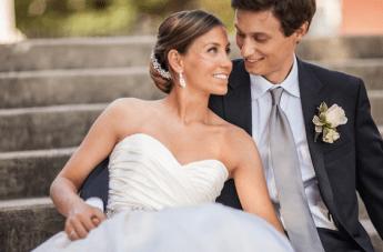 Chic, Classic, Timeless Wedding: Satin & Sparkle